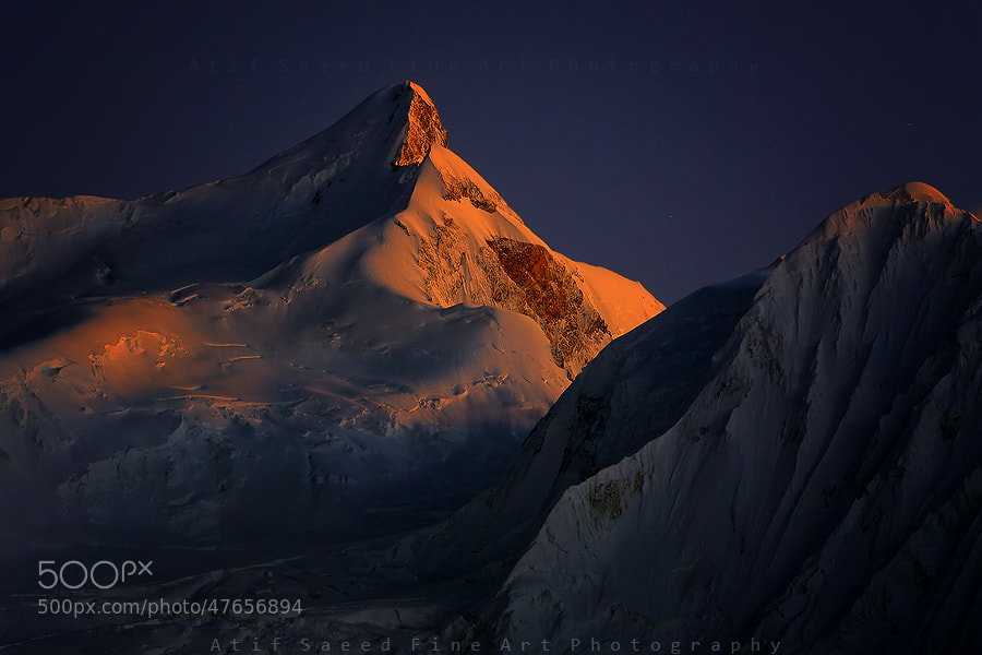 Photograph Malubiting Peak 7458m.. by Atif Saeed on 500px
