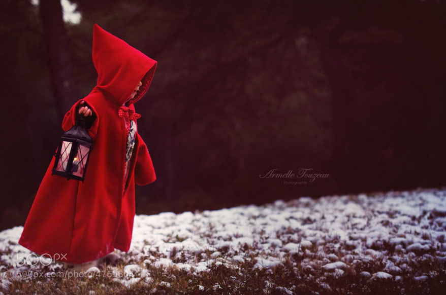 Photograph Chaperon rouge by Armelle Touzeau on 500px