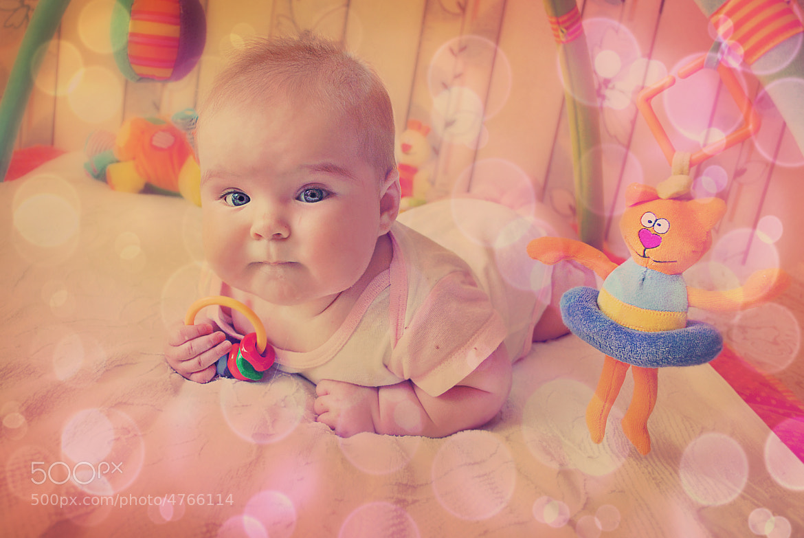 Photograph eternal values ​​of / baby / child / Lily / happy moments by Venera Efimova on 500px