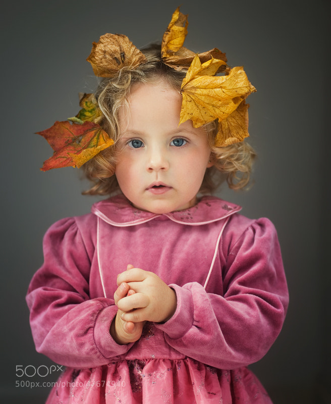 Photograph Little Miss Autumn by Lukasz Maksymiuk on 500px