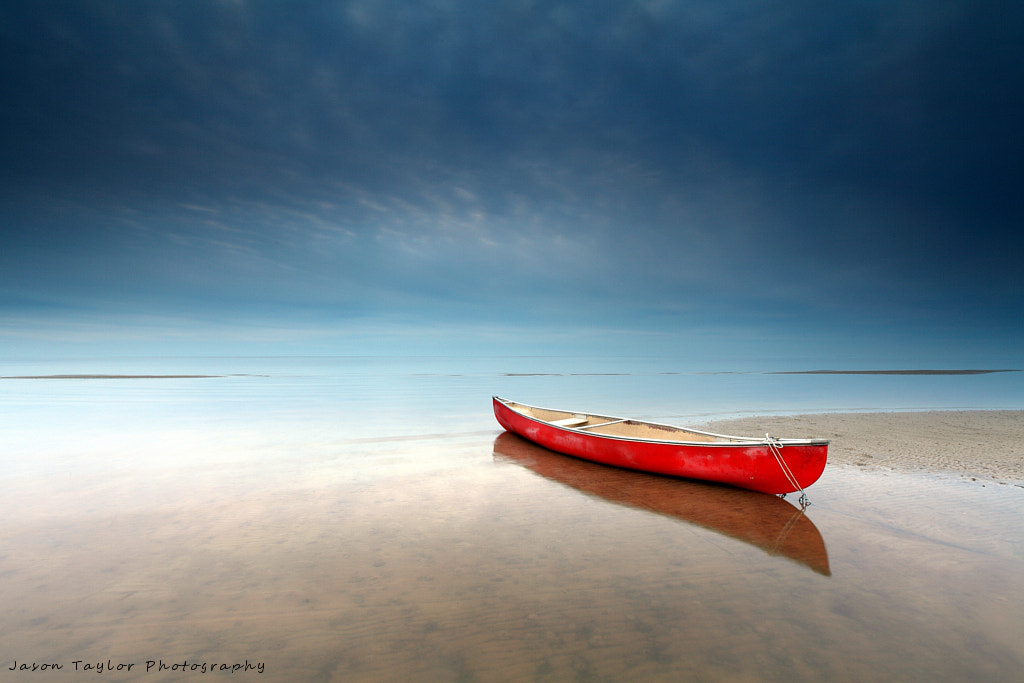 Photograph Canoe in Color by Jason Taylor on 500px