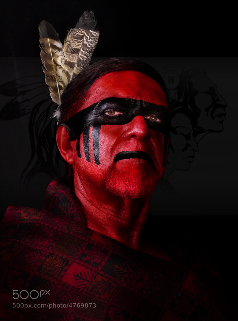 how to make native american face paint
