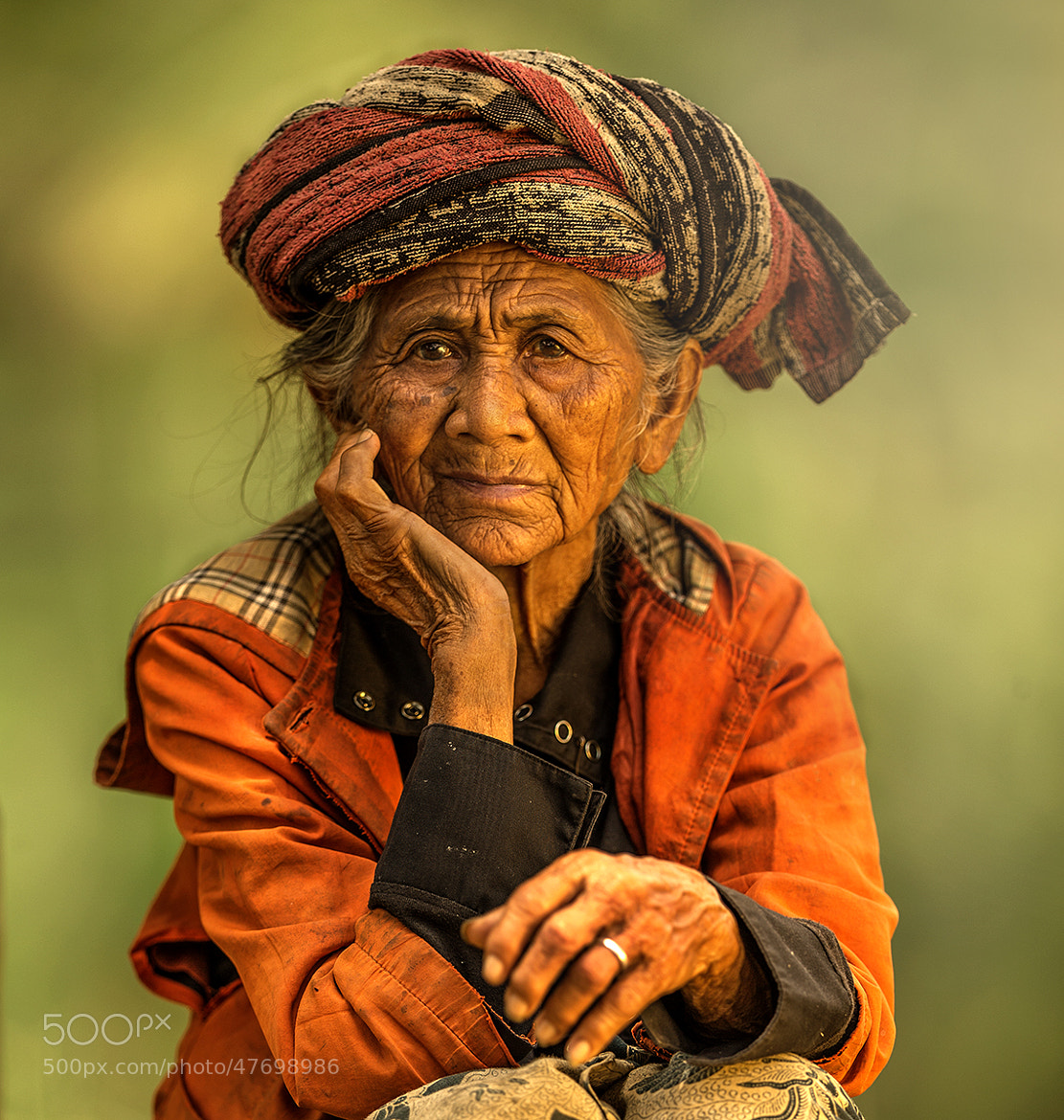 Photograph Old Lady by Jeffri Sarizawa on 500px