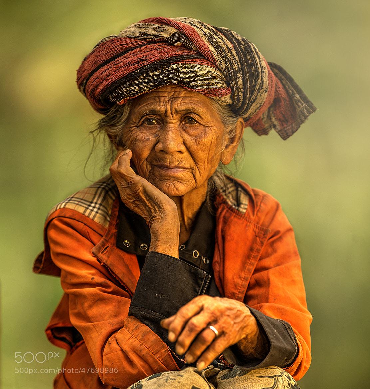 Photograph Old Lady by Jeffri Sarizawa on 500px