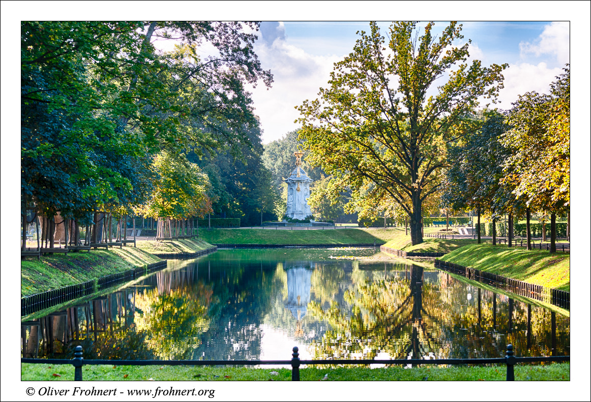 Photograph Autumn at the Tiergarten-Berlin by Oliver Frohnert on 500px
