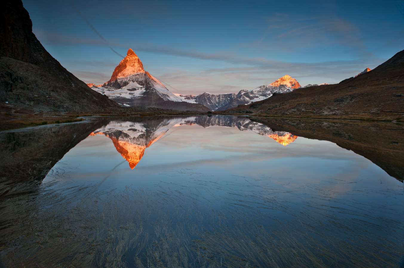 Photograph The 'red' Matterhorn by bodhisattva chattopadhyay on 500px