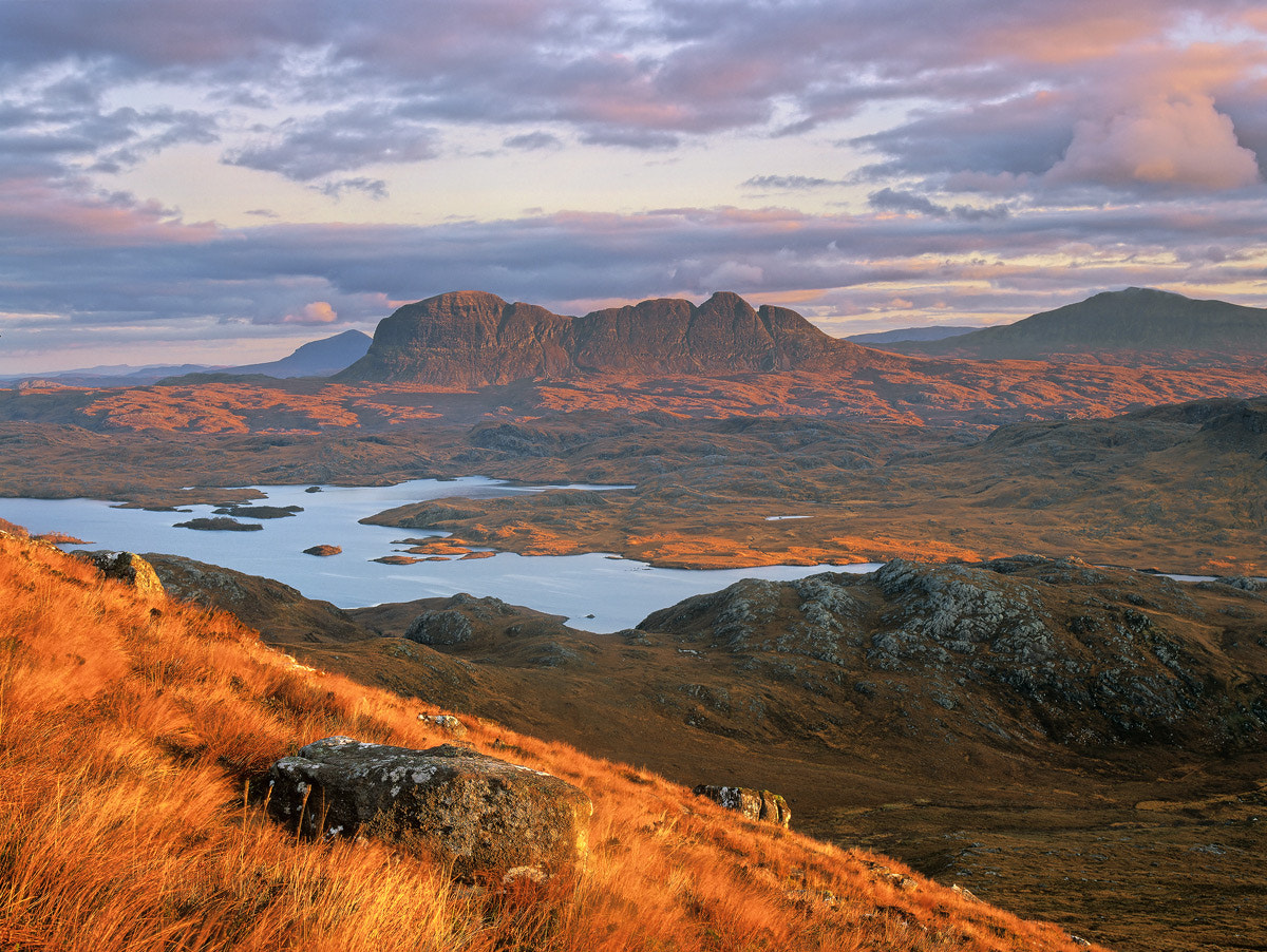 Photograph Suilven Dawn by Ian Cameron on 500px