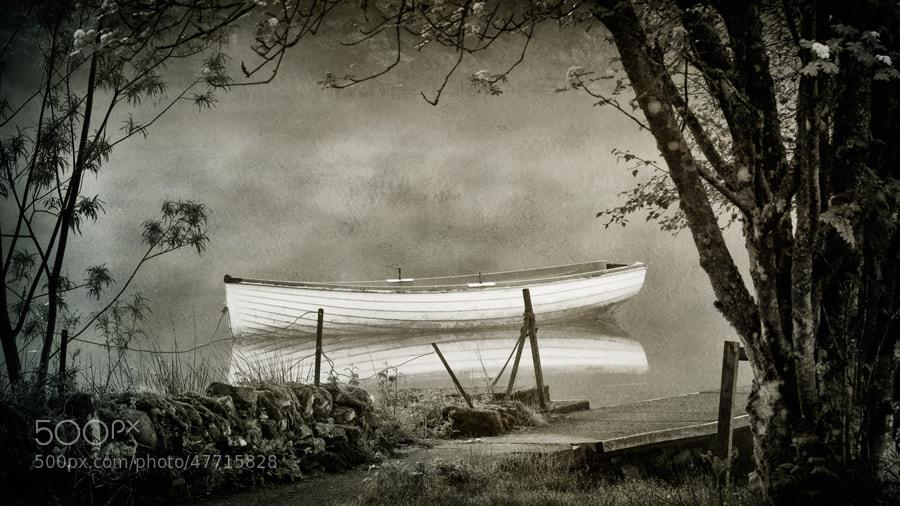 Photograph Loch Rusky mono... by David Mould on 500px