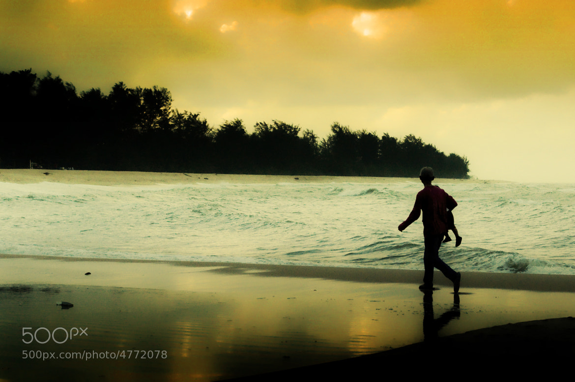 Photograph Sunset - Father and son by Zulkifli Yusof on 500px