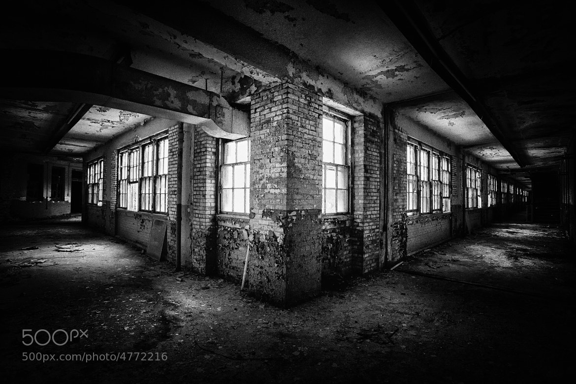 Photograph White Hall Abandoned by Shane Lund on 500px
