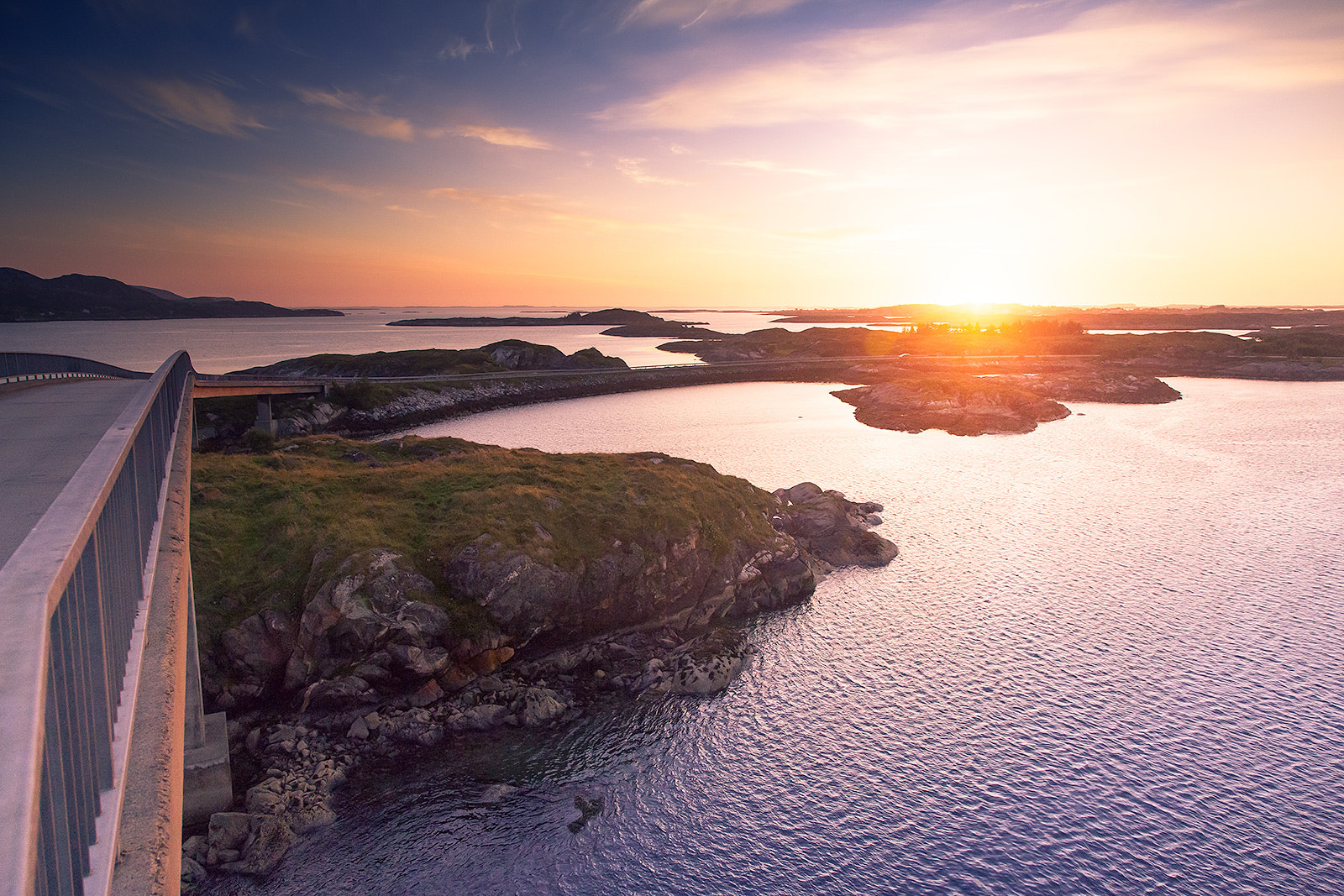 Photograph Herøy sunset by Jon Packer on 500px