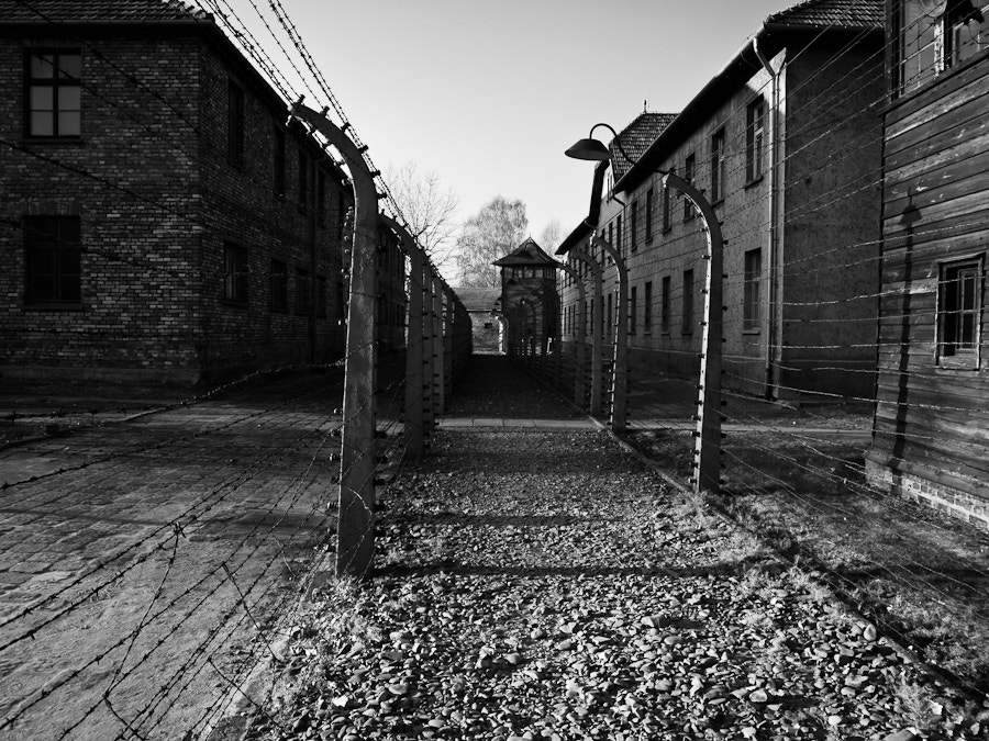 Photograph Auschwitz Fence by Victor Gan on 500px