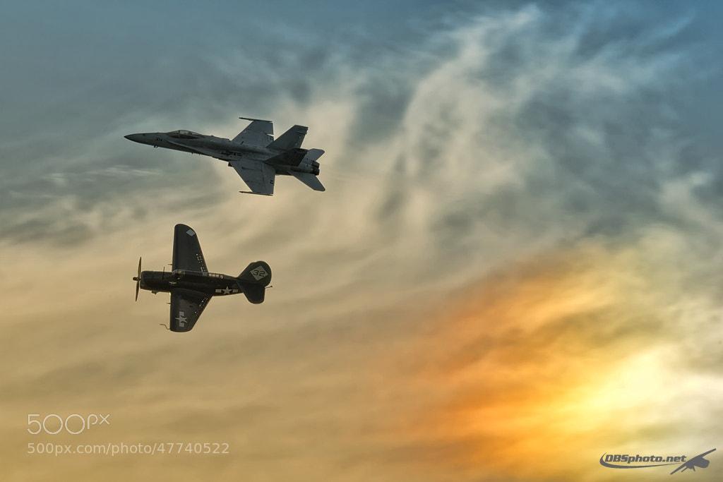 Photograph Legacy flight by Darek Siusta on 500px