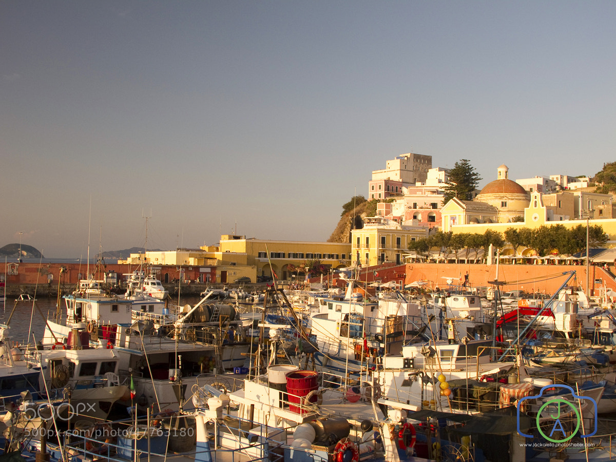 Photograph Isola di Ponza, Main Harbor by Jack L. Aiello on 500px