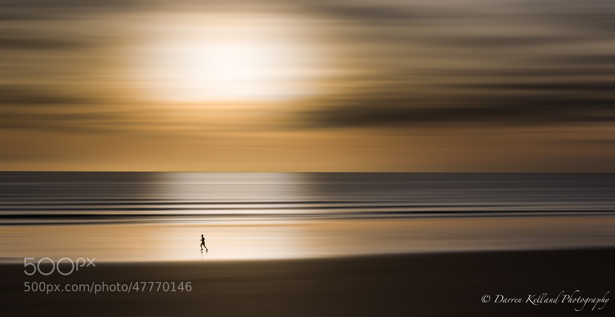 Photograph The Running Man by Darren Kelland on 500px
