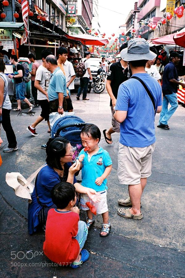 At Petaling Street (China Town), Kuala Lumpur, Malaysia.