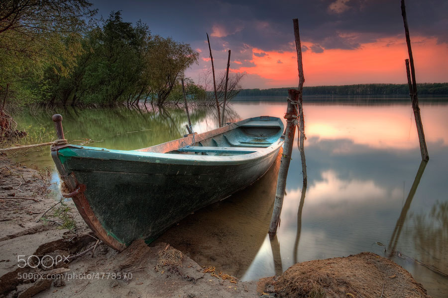 Photograph The Boat by Evgeni Dinev on 500px