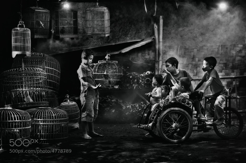 Photograph My favarite one...BW version. by Vincent Chung on 500px