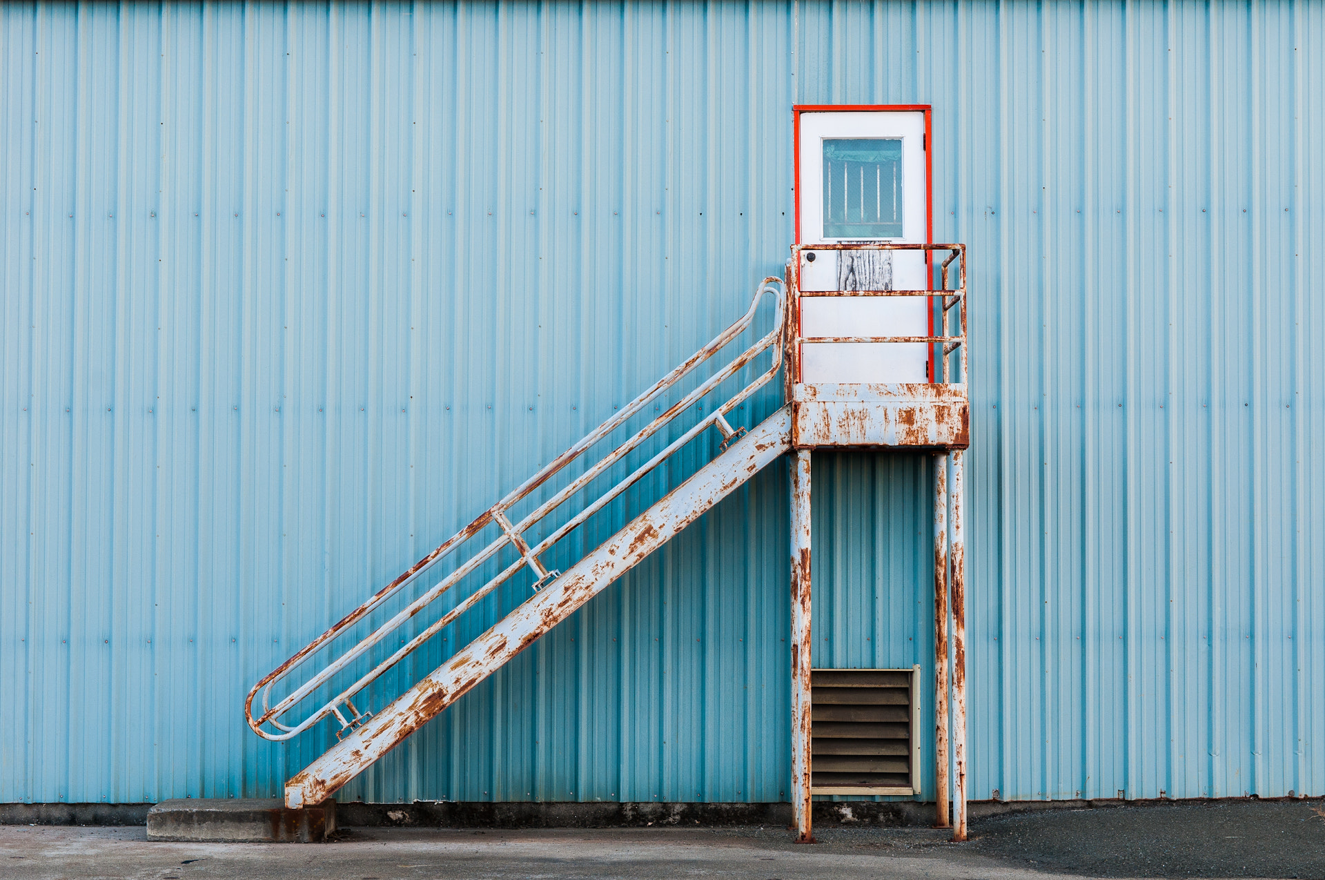 Photograph Rusty Stairs by Frozen Canuck on 500px