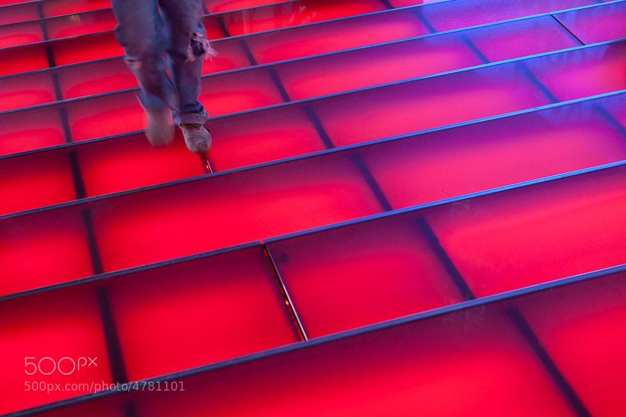 Photograph Red Steps by Achim Katzberg on 500px