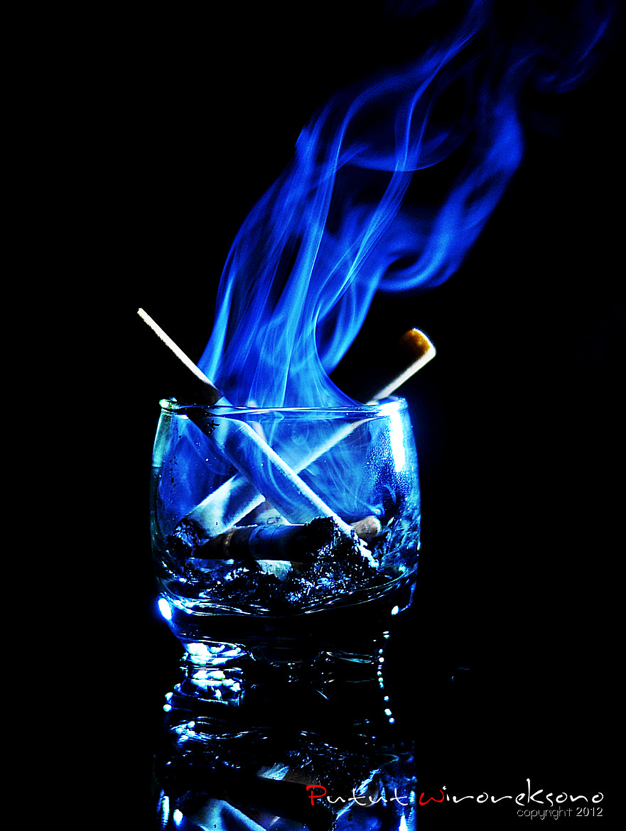 Photograph smoke in the glass by Putut Wiroreksono on 500px