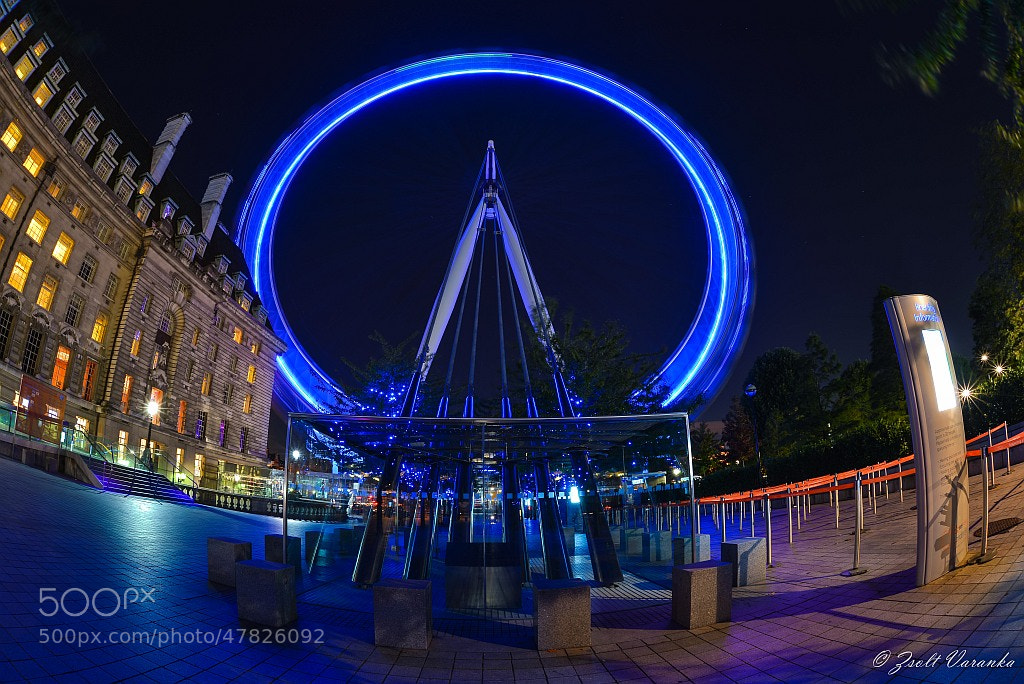 Photograph the London Eye by Zsolt Varanka on 500px