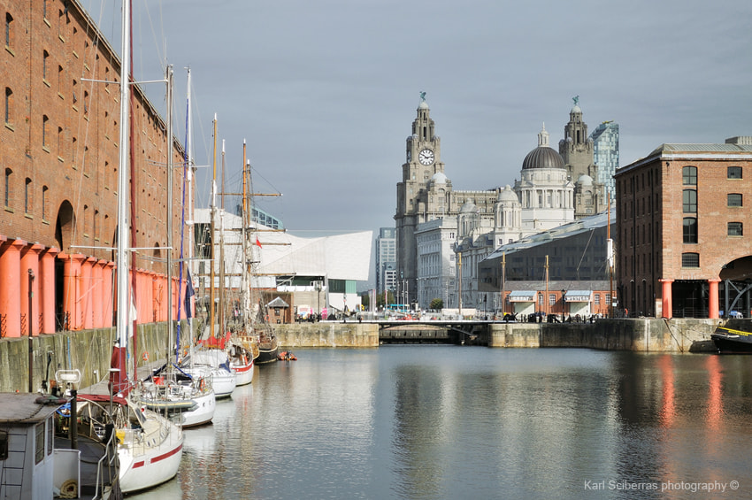 Photograph Albert Docks and the Royal Liver Building by Karl Sciberras on 500px