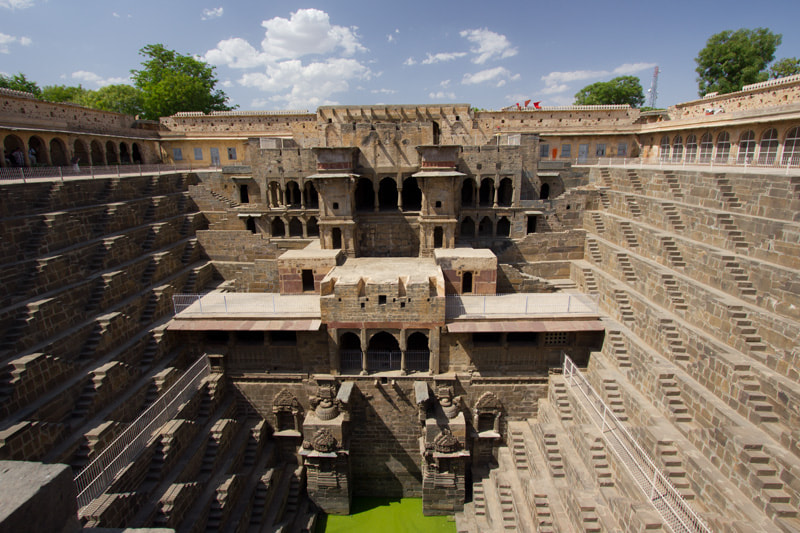 Photograph Chand Baoli stepwell by Colin Smith on 500px
