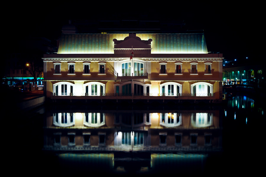 Photograph reflected house by Joe Bauers on 500px