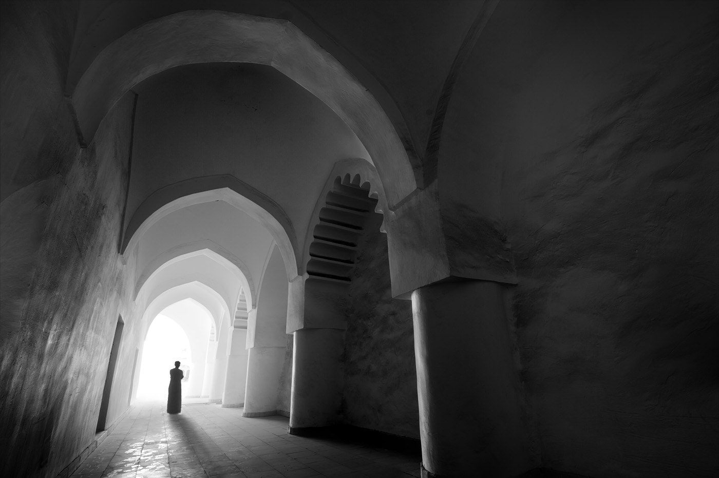 Photograph inside a fortress by Zuhair Ahmad on 500px