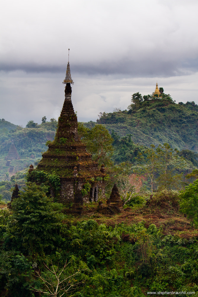 Photograph Pagodas, Mrauk_U by Stephan Brauchli on 500px