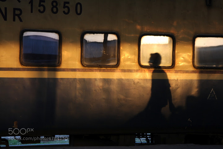 Photograph catching train by J J on 500px
