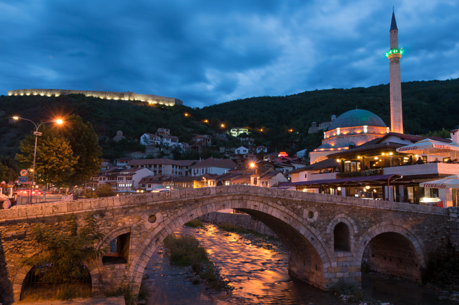 *** Night in Prizren, Kosovo *** by Jakup Jakupi on 500px.com