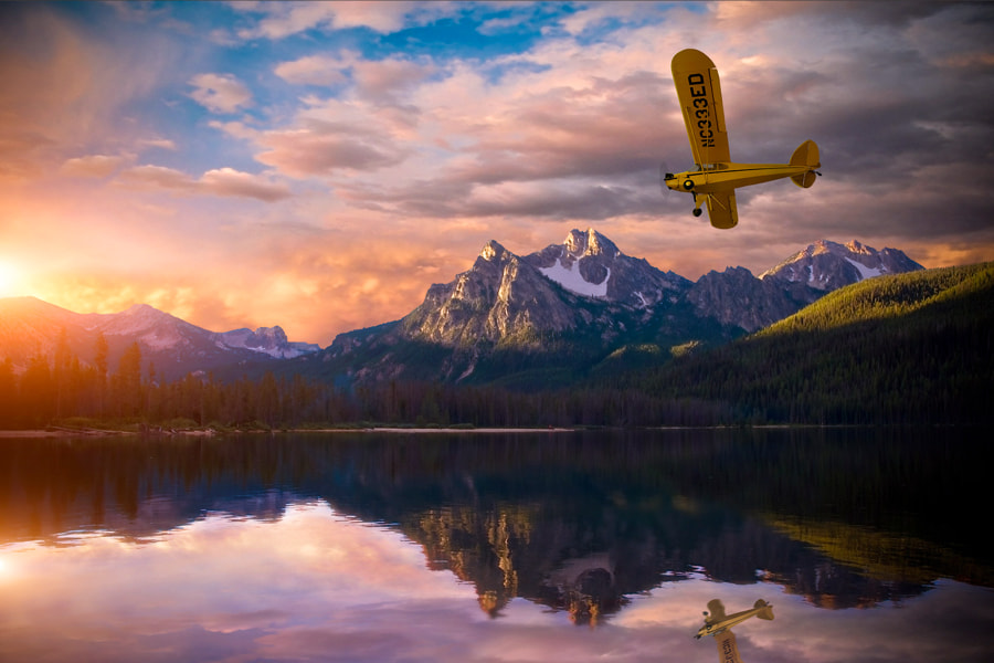 Photograph Piper J3 Cub, Stanley, Idaho by Greg Sims on 500px