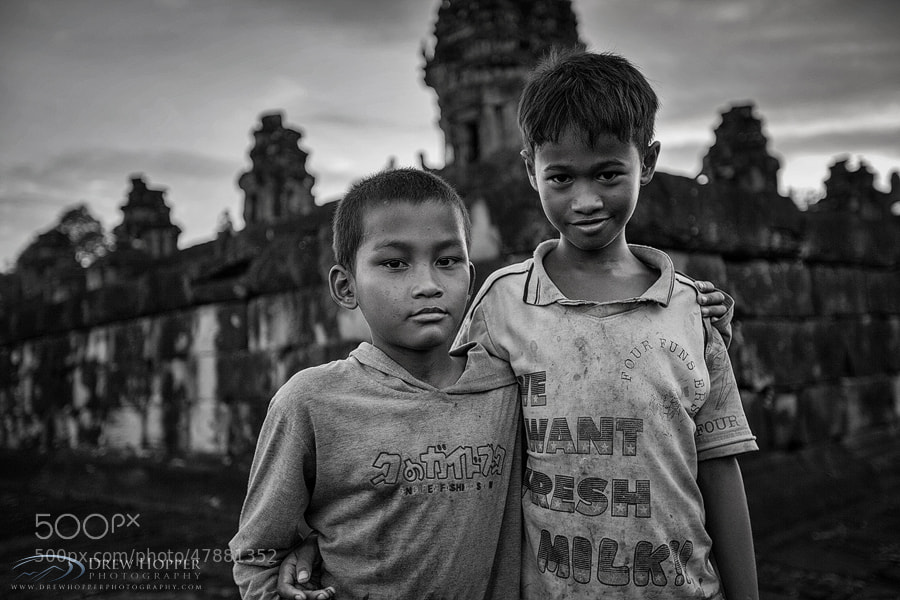 Photograph Children Of Bakong by Drew Hopper on 500px