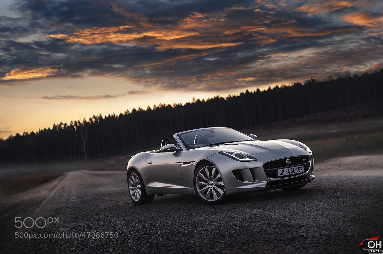 Photograph Jaguar F-Type V6S 'Sunset' by Oliver H on 500px