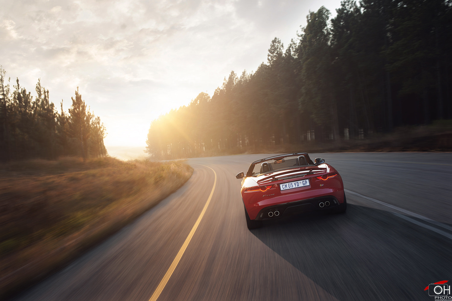 Photograph Jaguar F-Type 'Into The Sun' by Oliver H on 500px