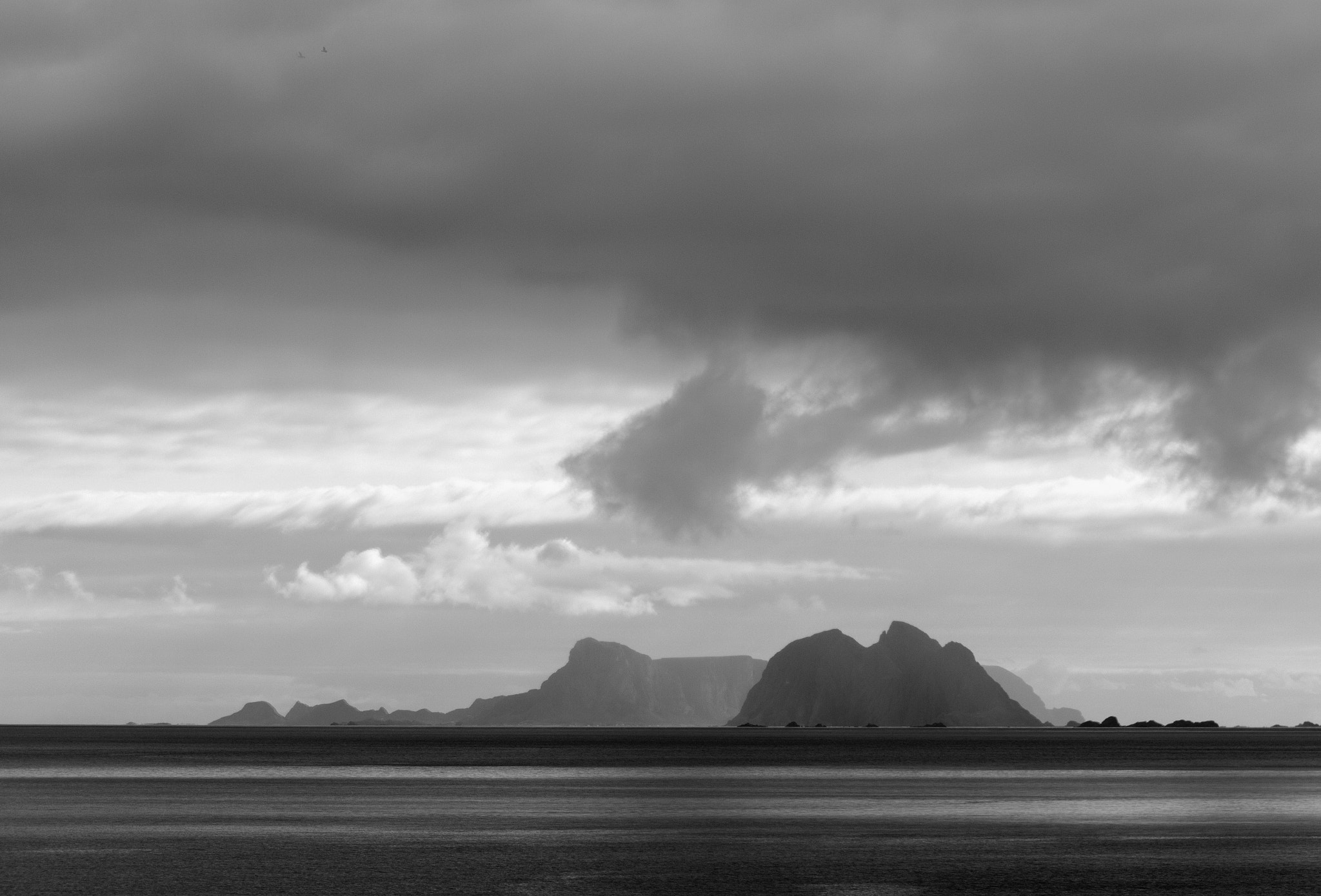 Photograph stormclouds over Værøy by Pieter Rottiers on 500px