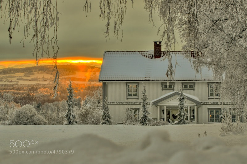 Photograph A cold Norwegian winter day by Kim  Rormark on 500px