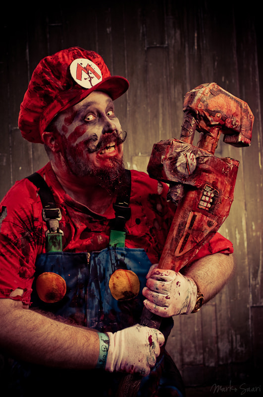 Photograph Super Mario Zombie by Marko Saari on 500px