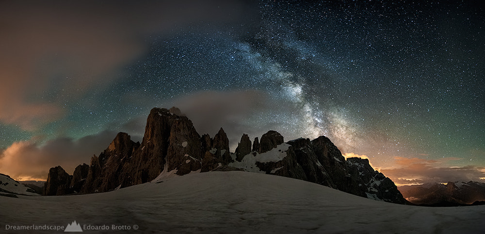 Photograph Wonder of Stars - Dolomiti by Edoardo Brotto on 500px