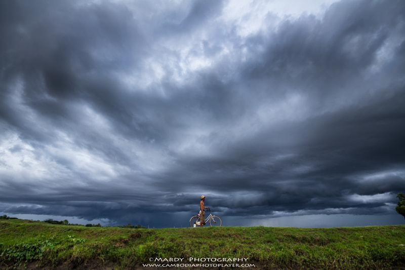 Photograph Rainy season! by Mardy Suong Photography on 500px