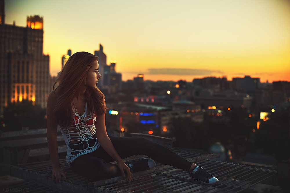 Photograph on the roof by Alex Noori on 500px