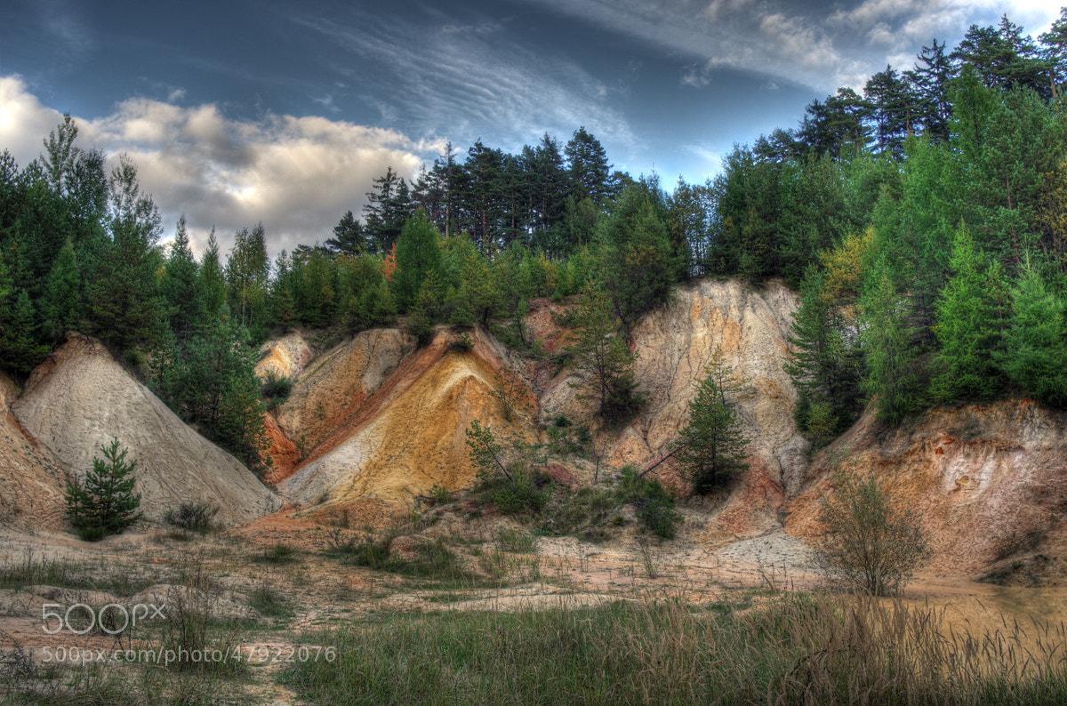 Photograph kaolin quarry by Petr Skoupý on 500px