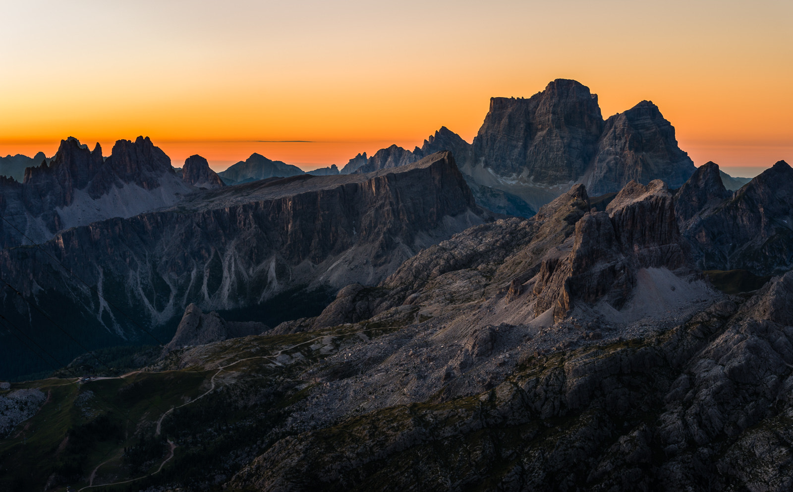 Photograph Sunrise view from Refugio Lagazuoi by Hans Kruse on 500px