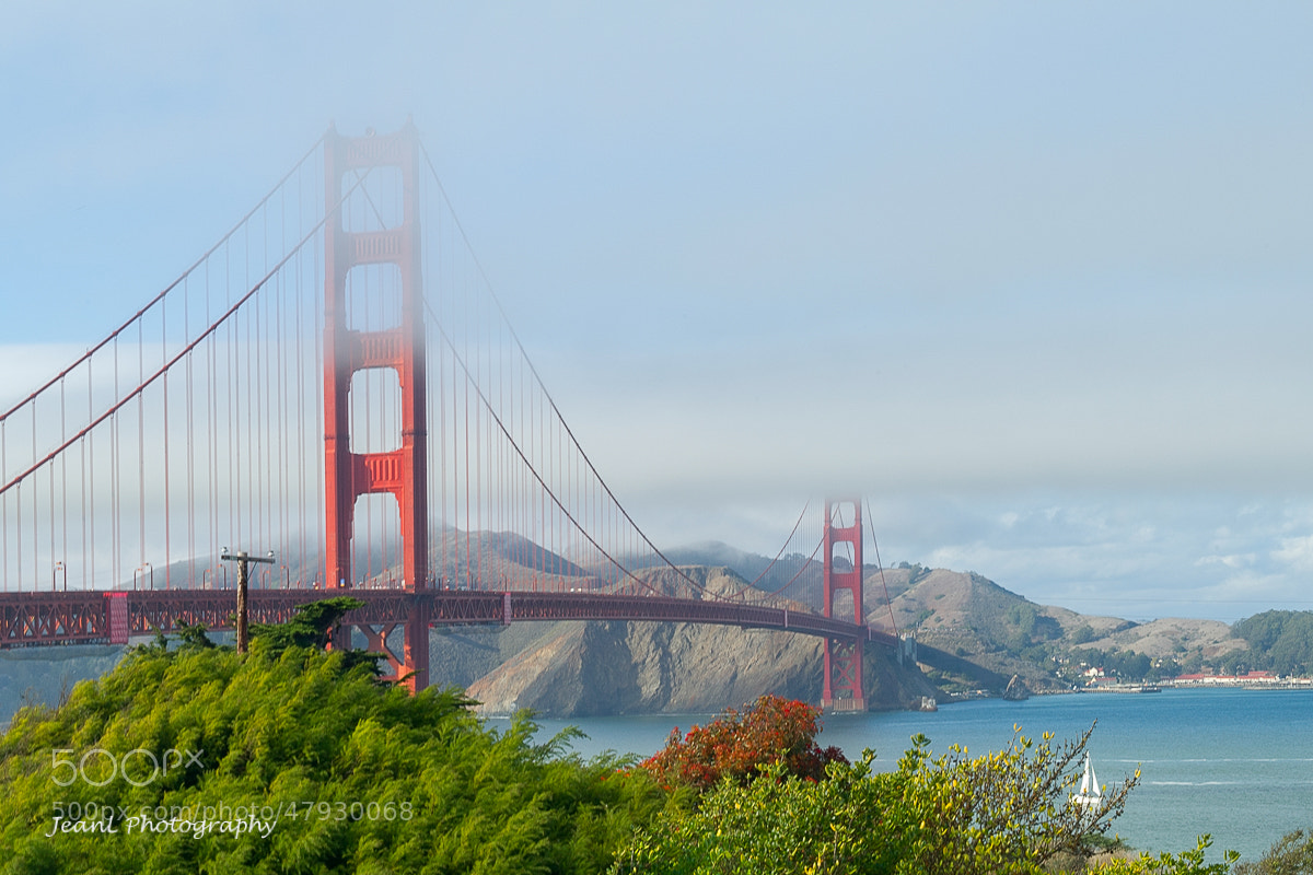 Photograph Golden Gate Bridge in Autumn by Jean Li on 500px