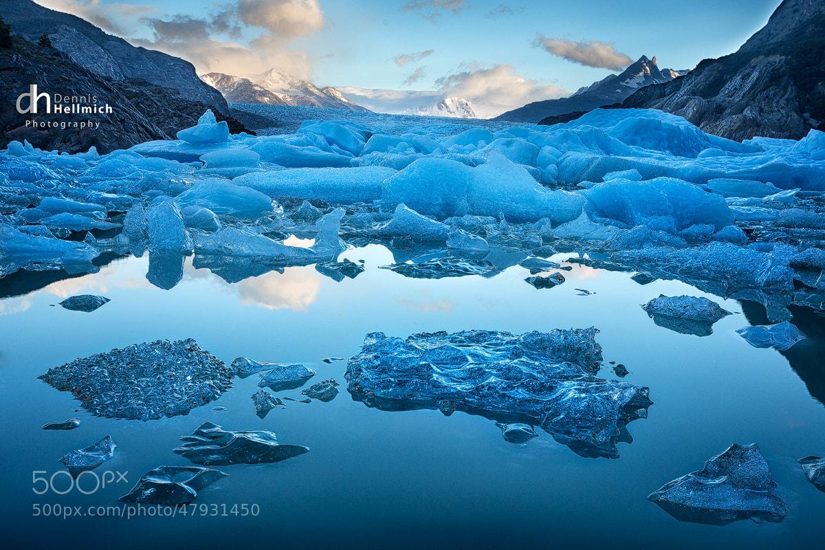 Photograph Grey Glaciar by Dennis Hellmich on 500px