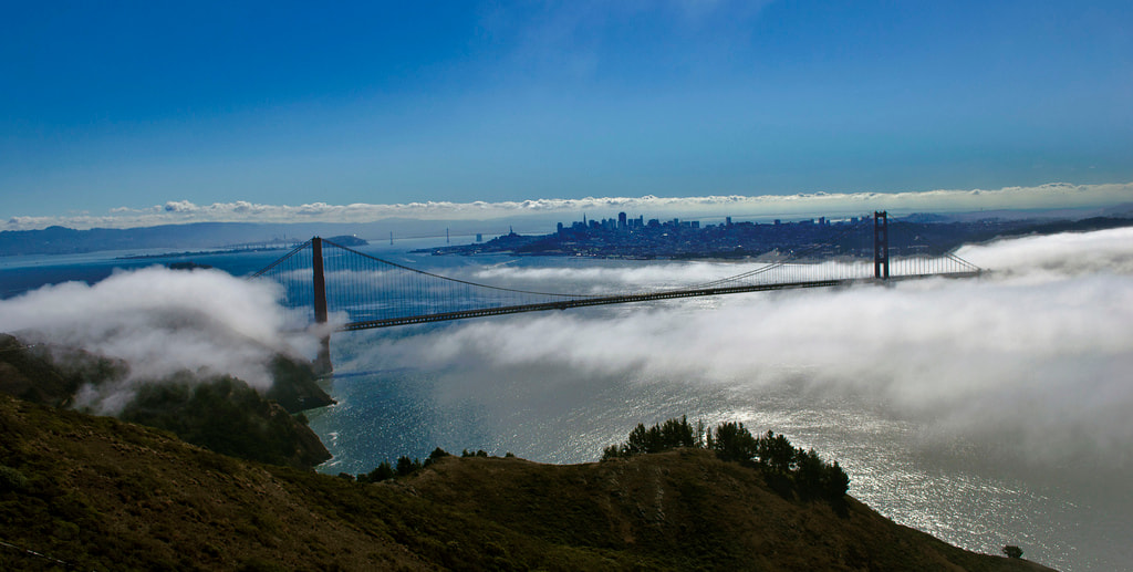 Photograph Golden Gate from Marin Headlands by Michael Sheltzer on 500px