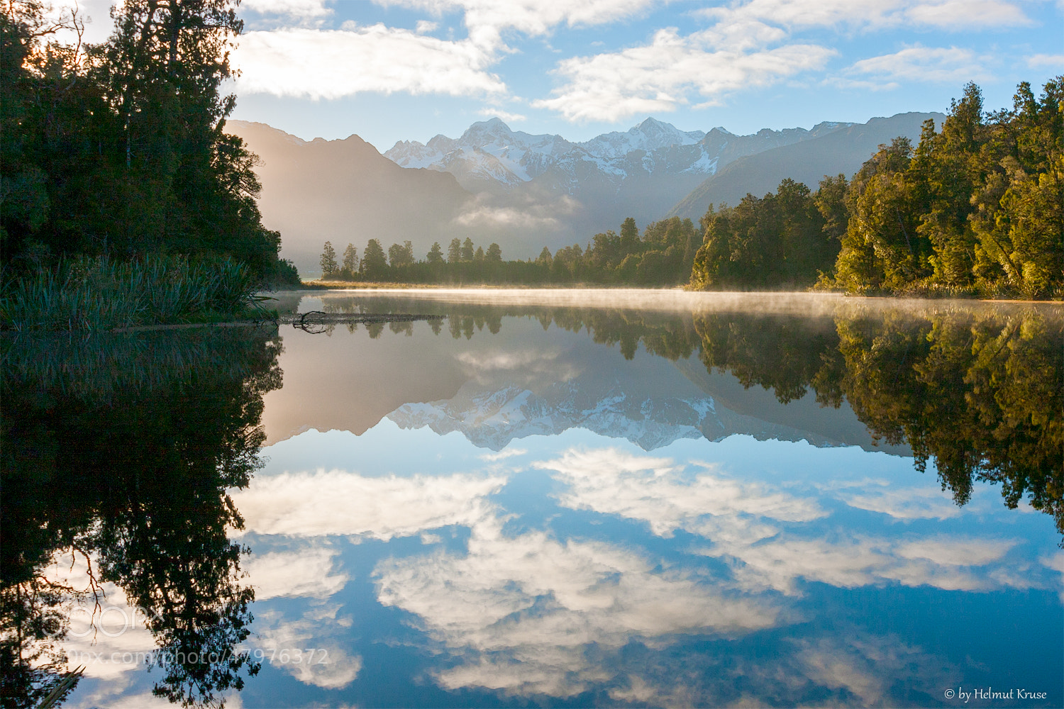 Photograph Lake Mathewson Southern Alps New Zealand by Helmut Kruse on 500px