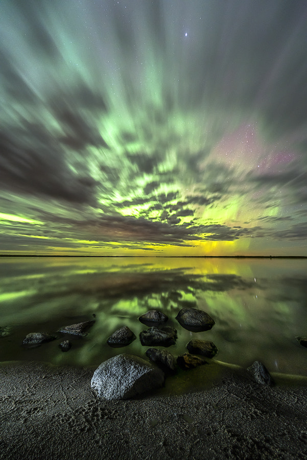 Photograph Auroras In the Clouds by Marshall Lipp on 500px
